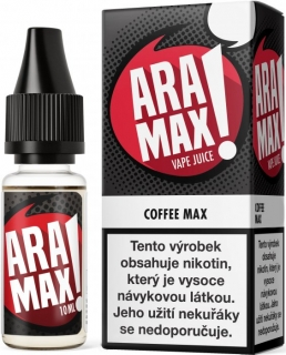 Liquid ARAMAX Coffee Max 10ml-12mg