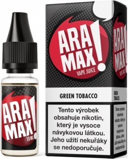 Liquid ARAMAX Green Tobacco 10ml-0mg