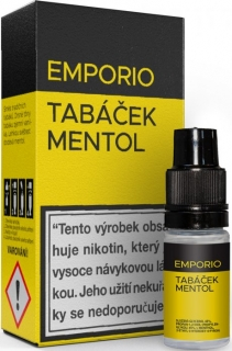 Liquid EMPORIO Tobacco - Menthol 10ml - 3mg