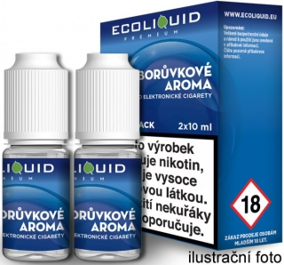 Liquid Ecoliquid Premium 2Pack Blueberry 2x10ml - 0mg (Borůvka)