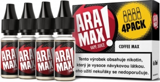 Liquid ARAMAX 4Pack Coffee Max 4x10ml-18mg