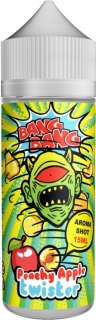 Příchuť BANG BANG Shake and Vape 15ml Peachy Apple Twister