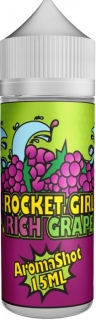Příchuť Rocket Girl Shake and Vape 15ml Rich Grape