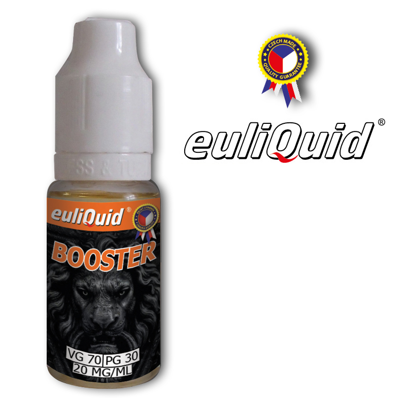 euliQuid - Nikotinový Booster PG30/VG70 10ml - 20mg