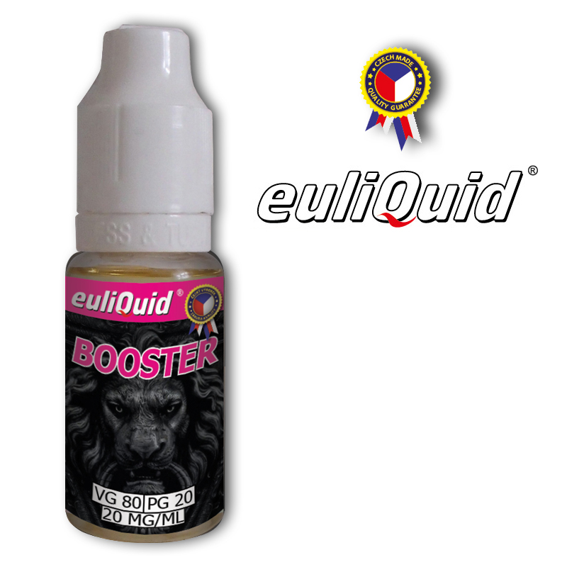 euliQuid - Nikotinový Booster PG20/VG80 10ml - 20mg