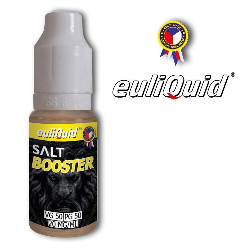 euliQuid - Nikotinový Booster SALT Nic PG50/VG50 10ml - 20mg