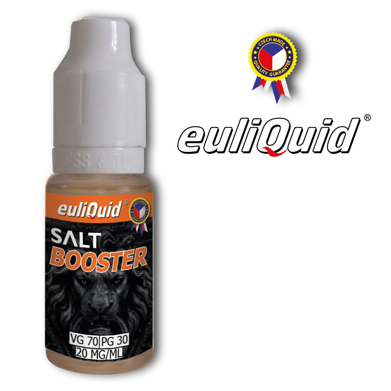euliQuid - Nikotinový Booster SALT Nic PG30/VG70 10ml - 20mg