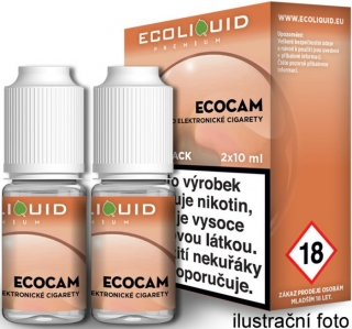 Liquid Ecoliquid Premium 2Pack ECOCAM 2x10ml - 6mg