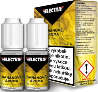 Liquid ELECTRA 2Pack Banana 2x10ml - 12mg (Banán)
