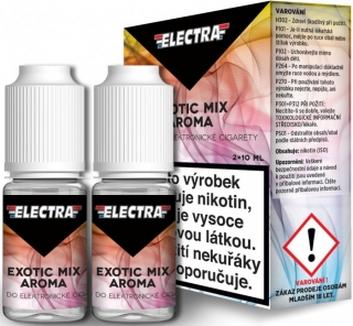 Liquid ELECTRA 2Pack Exotic Mix 2x10ml - 12mg (Mix exotického ovoce)