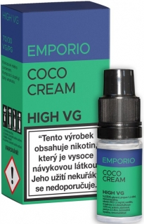Liquid EMPORIO High VG Coco Cream 10ml - 0mg