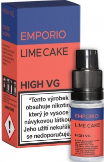 Liquid EMPORIO High VG Lime Cake 10ml - 6mg
